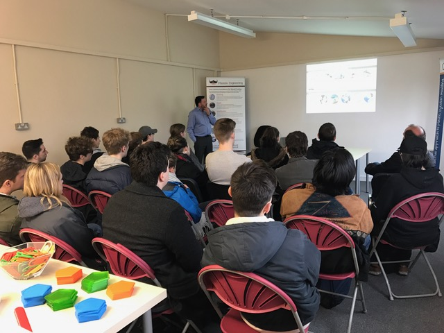 Students at Pentagon Plastics - UK Plastics News