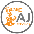AJ Robotics logo - UK Plastics News