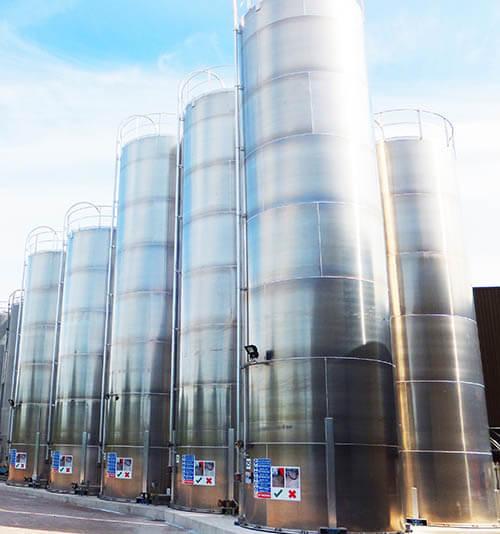 Material silos