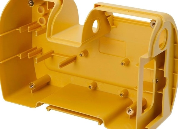 Plunkett Injection moulded part