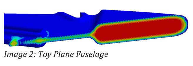 Image 2: Toy Plane Fuselage