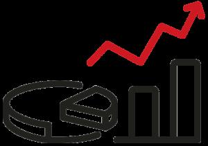 Market volume icon
