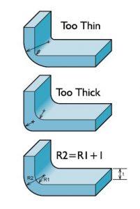 RJG Wall Thickness