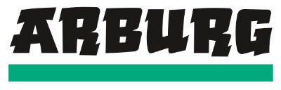 Arburg logo - injection moulding machinery suppliers
