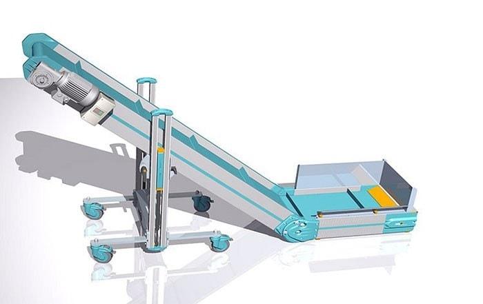 Horizontal to Incline Conveyor