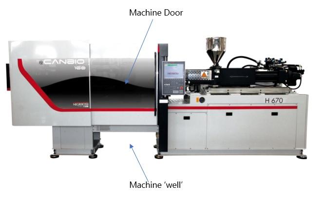 Moulding Machine Well & Door