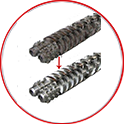 Plastic extrusion Refurbishment Services – Screws & Barrels