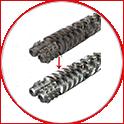 Plastic extrusion Refurbishment Services – Screws & Barrels