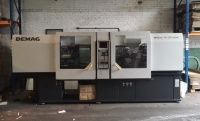 Used Demag Ergotech System 110-200 Injection Moulding Machine