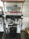 Used Isimat Universal Silk Screening Machine ideal for injection moulded parts