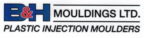 B&H Mouldings Ltd logo