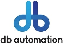 DB Automation logo - plastic part printing equipment supplier