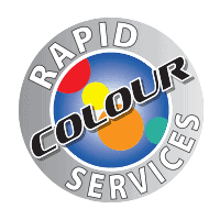 Rapid Colour Services logo