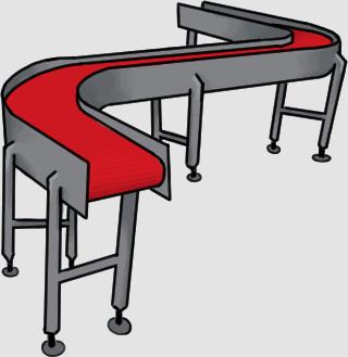 Plastic industry conveyors suppliers - Belt Conveyor Systems