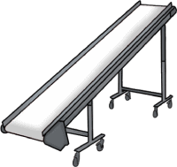 Plastic industry conveyors suppliers - Incline Conveyors