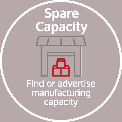 Spare capacity icon