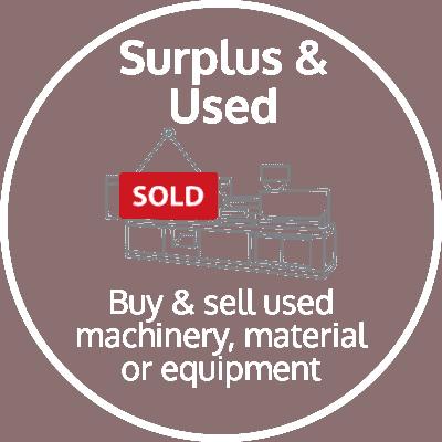 Used & surplus stocks icon